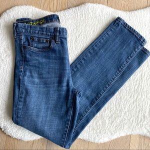 J. Crew Toothpick Jeans Medium Wash